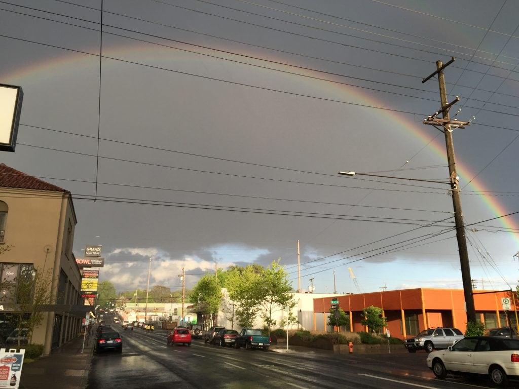 Rainbow and Inspiration