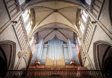 great pipe organ | Shimenawa | Discovering Intentionality at a Gospel Music Concert